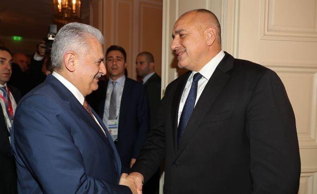 Başbakan Yıldırım Borisov ile Görüştü