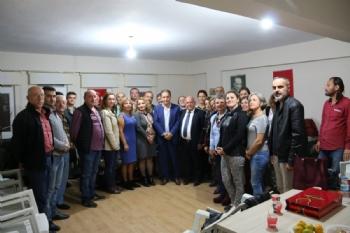 Sinop Belediye Başkanı Mübadele Derneğini Ziyaret Etti