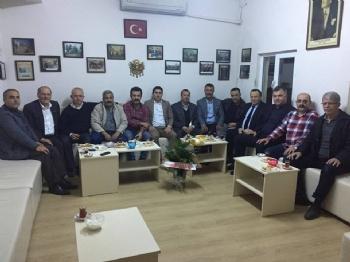 Asarağaç Derneği Başkanı Ahmet Balcı'ya Geçmiş Olsun Ziyareti