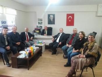 Federasyon Yönetimi Bafra - Alaçam - Sinop Derneklerini Ziyaret Etti