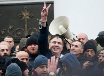 Ukrayna'da Saakaşvili Gerginliği