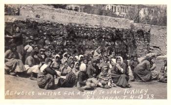Ortodokslar Samsun'dan Ayrılırken