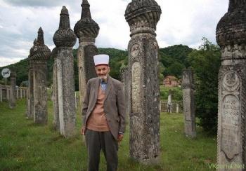 Bosna'da Müslüman Mezarlığı ve Boşnakça Bir İlahi...