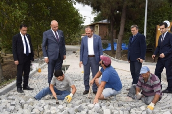 Tekkeköy Mağaraları'nda Çalışmalar Sürüyor