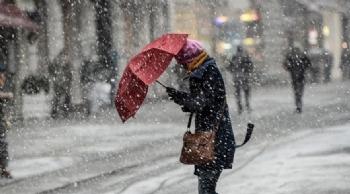 Orta Karadeniz'e Kar Geliyor