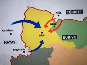 Kod Adı Zeytin Dalı... Hedef Afrin!