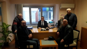 Başkan Aral Sinop Esnaf Odasını Ziyaret Etti