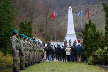 Bosna Hersek'teki Türk Şehitliğinde Anma Töreni