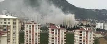 Ordu Devlet Hastanesinde Yangın