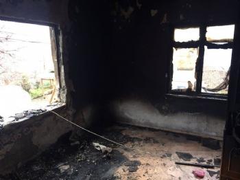 Selemelik Köyünde Yangın