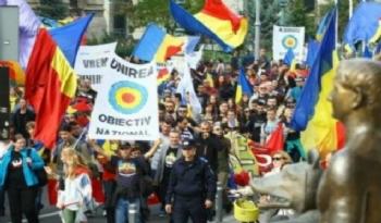 Moldova ile Romanya Birleşsin Mitingi...