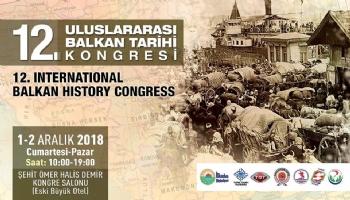 12. Balkan Tarih Kongresinde Sunulacak Bildiriler