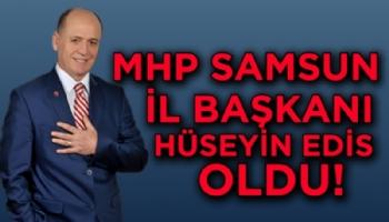 Samsun'da Mhp'ye Mübadil İl Başkanı