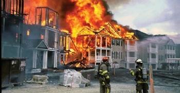 Gümülcine'de Yangın