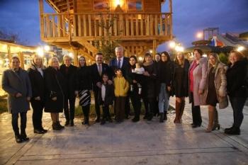 Ukraynalılar Atakum'da...