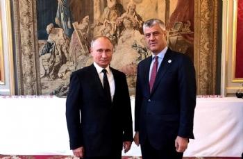 Kosova'da Thaçi - Putin Buluşması