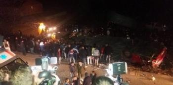 Makedonya'da Korkunç Kaza