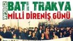 29 Ocak: Batı Trakya Türklerinin Milli Direniş Günü